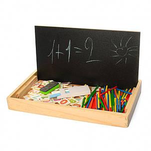 Деревянная игрушка Набор первоклассника 258A-3, фото 2