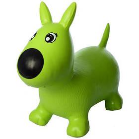 Прыгун-собачка (Зеленая) / Прыгун для детей