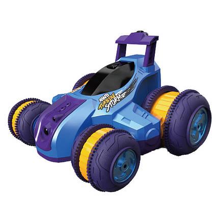 Машина (р/у, трюковая) М3946U Yellow,  (Синий), фото 2