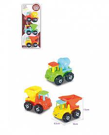 """Дитячі машинки """"Будівництво"""" 3 шт в наборі / Дитячі машинки"""