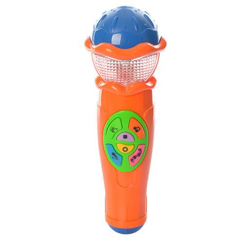 Микрофон (Оранжевый) / Музыкальные игрушки / Развивающие игрушки