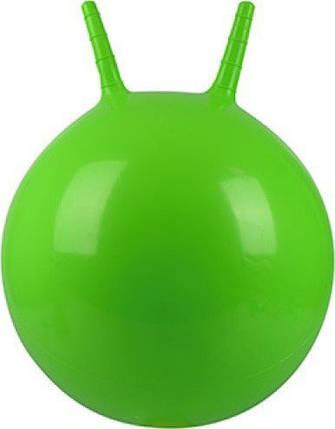 Мяч для фитнеса с рожками MS 0938 ( 0938(Green) Зелёный), фото 2