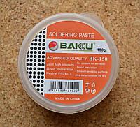 Паяльная паста, флюс (Soldering paste) Baku BK-150  PH 7 нейтральная (100 гр)