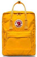 Рюкзаки Kanken Fjallraven 16л жёлтый цвет