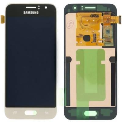 Дисплей (екран) для Samsung J120H Galaxy J1(2016) з сенсором (тачскріном) золотистий з регулюванням (TFT), фото 2