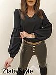 """Блуза з об'ємним рукавом """"Adel"""", фото 7"""