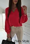 """Блуза з об'ємним рукавом """"Adel"""", фото 8"""