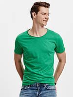 Зеленая мужская футболка LC Waikiki / ЛС Вайкики с круглым вырезом, фото 1