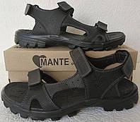 Mante xbiom комфорт! Кожаные мужские сандалии Манте стиль лето, фото 1