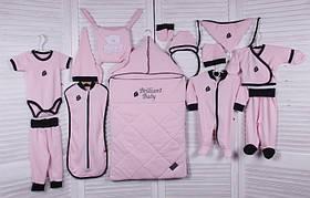 Набор одежды для новорожденной девочки Baby Bag розовый
