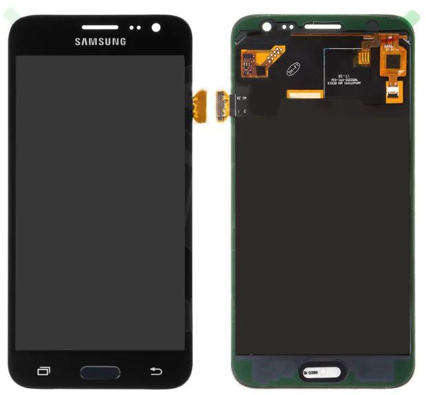 Дисплей (экран) для Samsung J320H с сенсором (тачскрином) черный с регулировкой (TFT)