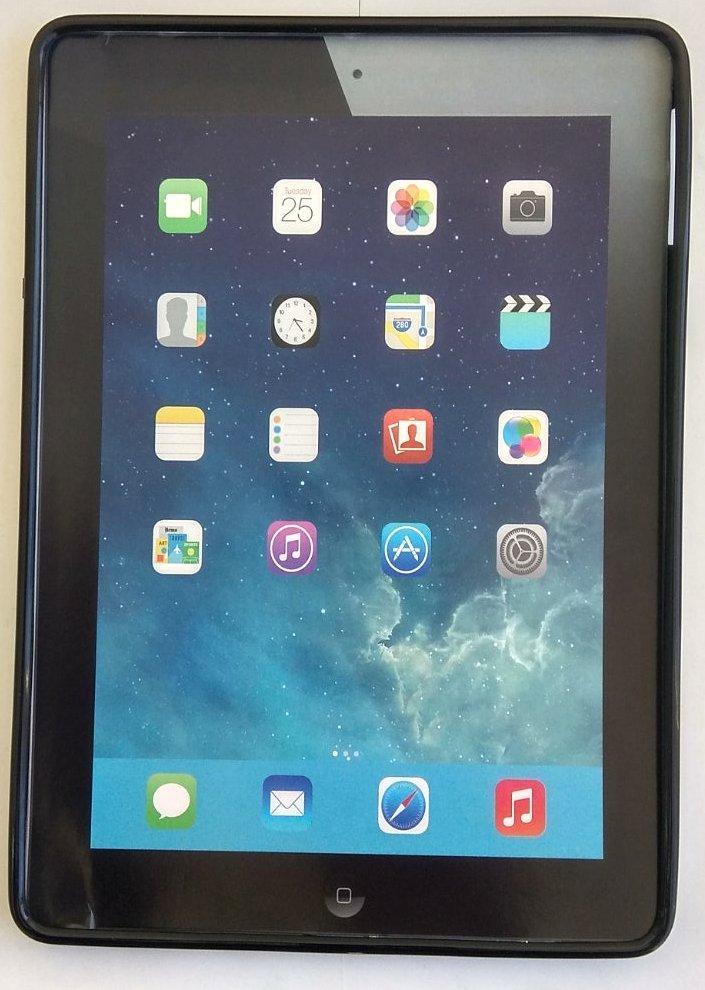 Силіконовий чохол накладка iPad Air Black