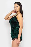 Женская пижама велюр Рози однотонный,одежда для сна