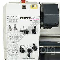 OPTIturn TU 3008 G токарный станок по металлу токарно-винторезный оптимум варио токарний верстат Optimum, фото 2