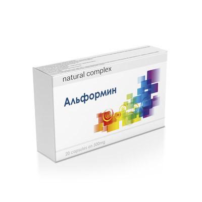Альформин - капсули від діабету