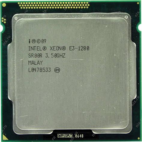 Процессор Intel® Xeon® E3-1280 LGA1155 up to 3.90GHz аналог i7-2600K, фото 2