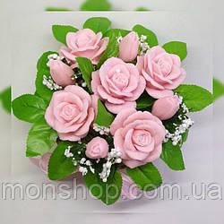 Мыльный букет роз (VIP)