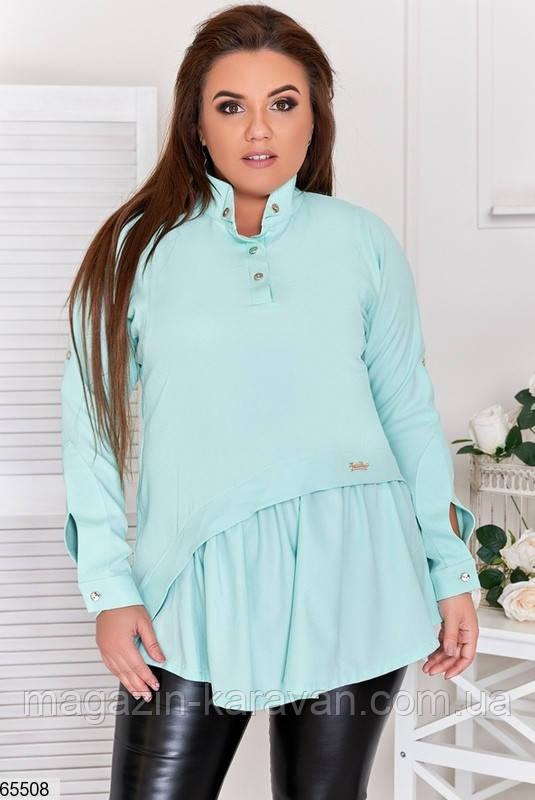Блузка женская без застежки  6 цветов