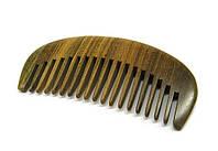 Гребень для бороды и усов из сандала натурального