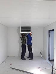 Строительство холодильной камеры из сэндвич-панелей