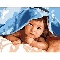 Картина по номерам Малыш, 30x40 см., Babylon VK193 Діти, ангели