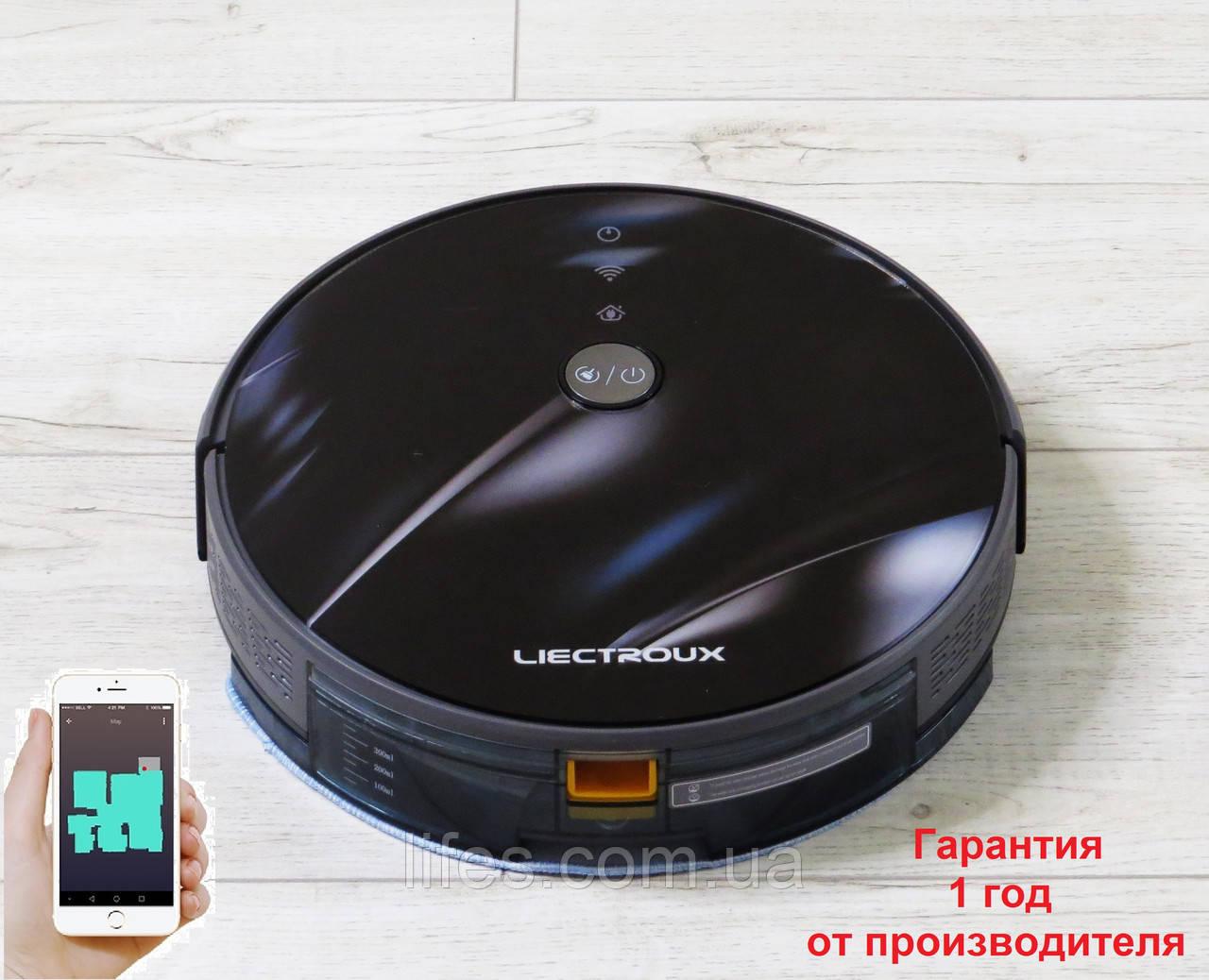 Робот - пылесос LIECTROUX C30B. 3D Блик  WI-FI. Немецкий бренд. Европейская версия. Модель 2020 года.