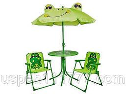 Детский стол, зонт и 2 стула на пикник