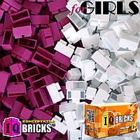 Набор для девочки 300шт 2 цвета IQ BRICKS