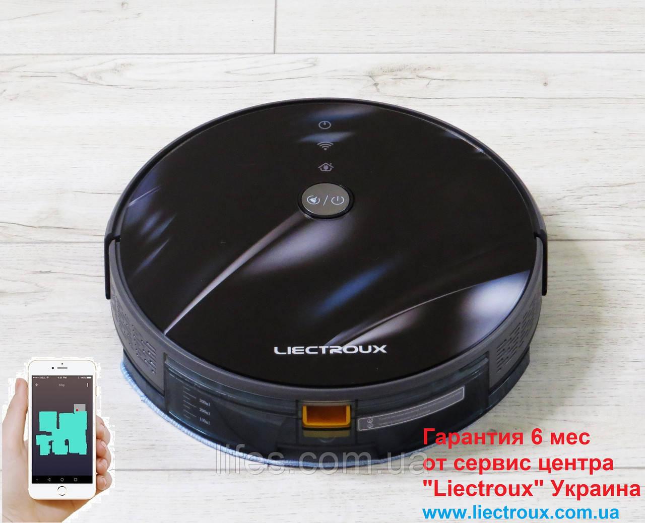 Робот - пылесос LIECTROUX C30B. 3D Блик.  WI-FI. Немецкий бренд. Европейская версия. Модель 2020 года.