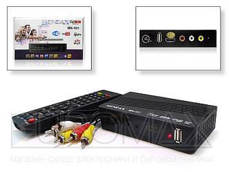 Цифровой эфирный приемник с экраном DVB-T2 MONDAX IPTV/YouTube/WiFi/MP4 пластик 40шт T2-MX-101