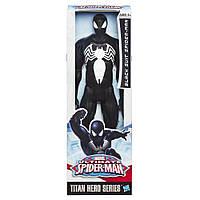 Большая игрушка Человек-Паук, Веном 30 см, серия Титаны - Spider-Man Black Suit, Titans, Hasbro SKL14-156177