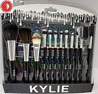 Набор кистей для макияжа KYLIE XOXO профессиональный из 12 инструментов