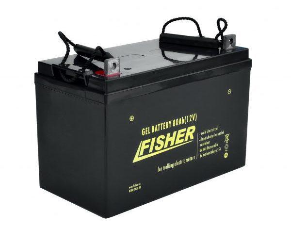 Гелевый аккумулятор Fisher 80 Ач