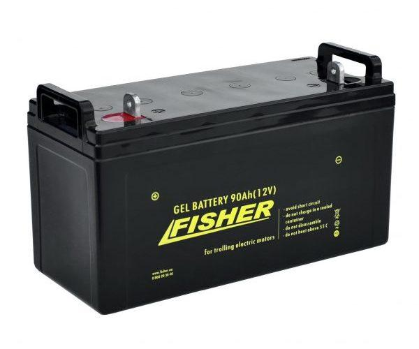 Гелевый аккумулятор Fisher 90 Ач