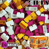 Набор для девочки 300шт 3 цвета IQ BRICKS