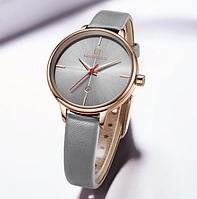 Женские кварцевые наручные часы Naviforce NF5006 Gray-Cuprum-Gray