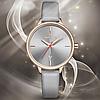 Женские кварцевые наручные часы Naviforce NF5006 Gray-Cuprum-Gray, фото 4