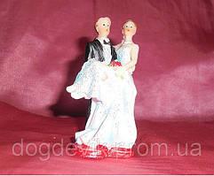 Свадебные фигурки на торт