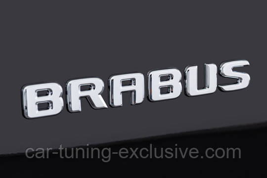 BRABUS emblem for Mercedes GLC-class X253