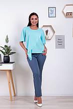 Костюм жіночий (блуза + штани) 50-52 ;52-54р. (5расцв.)