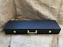 """Шампура подарочные с бронзовыми ручками """"Дикий кабан"""" в кейсе из эко-кожи, фото 4"""
