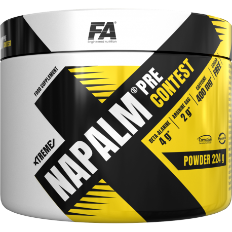 Предтренировочный комплекс Xtreme Napalm Pre Cont Fitness Authority 500g
