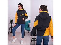 Куртка жіноча весна Розмір: 48-50, 52-54  Модні куртки весна 2020 жіночі Тканина: плащівка високої якості, не