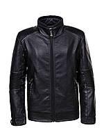 Куртка кожзам утепленная для мальчиков, Glo-story, 146,152,164 см, № BРY-9261
