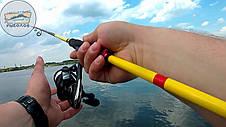 Спиннинг Lucky John Progress POWERJIG 56 2.74 15-56 г рыболовные спиннинговое двусоставное удилище LJPP-902HF, фото 2
