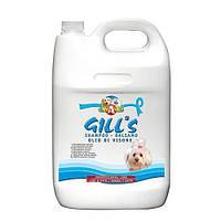 Шампунь-кондиционер GILL'S С норковым маслом, для блестящей шерсти, 5 литров