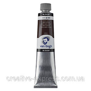 Фарба олійна VAN GOGH, (409) Умбра палена, 200 мл, Royal Talens, фото 2