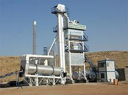 Стационарный асфальтный завод циклического действия Сesan CSP 80 т/час