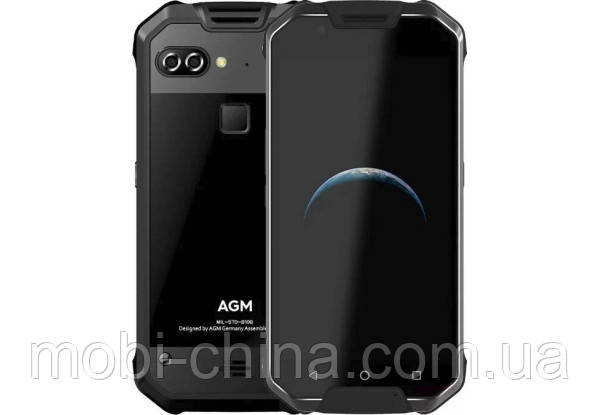 AGM X2 SE 6/64Gb black glass, фото 2