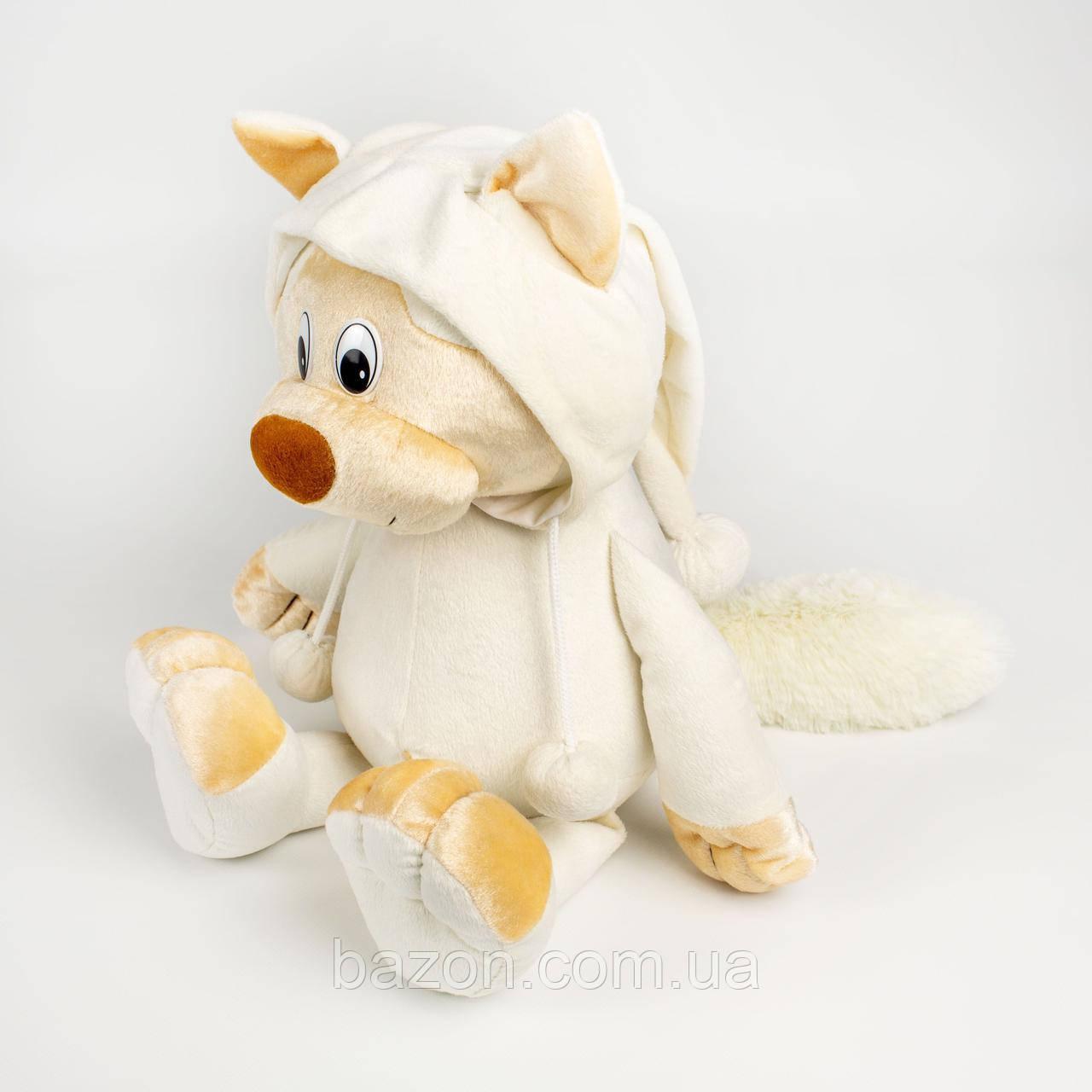 Мягкая игрушка Кот в капюшоне 47 см